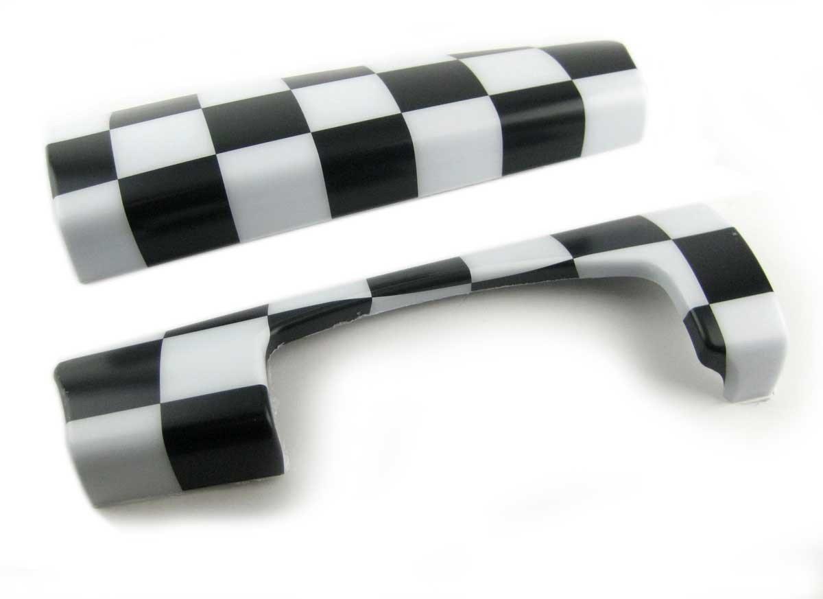 Mini CooperダッシュトリムCheckered 2pc gen3 F55 F56 F54 F57 B01MROTHO5