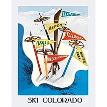 Amazon.com: ski print
