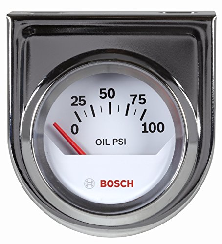 Gauge White Dial - Bosch SP0F000041 Style Line 2