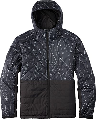 BURTON Men's Yukon Jacket, Phantom M+ Texture, Large (Phantom Jacket Snowboard)