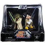Jedi Mickey & Yoda Star Tours 2-Pack