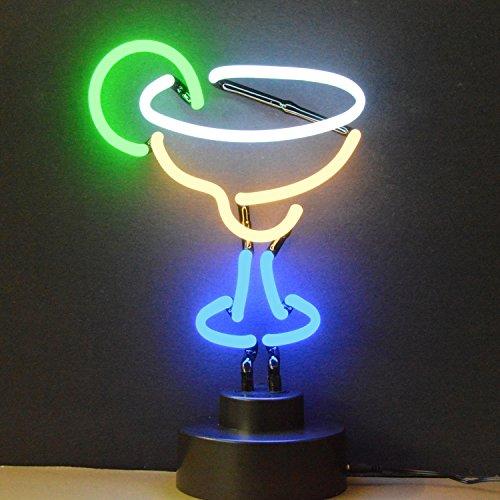 Neonetics Indoor Hand Blown Margarita Neon Sculpture - Multicolor