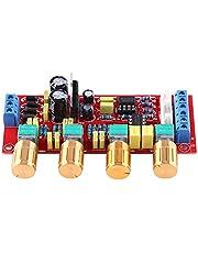 SANON Placa de Amplificador de Audio Preamplificador de Alta Fidelidad Ne5532 Kits de Placa de Tono de Preamplificador Ac 12V Amplificador de Alta Fidelidad Op-Amp (Placa Ensamblada)