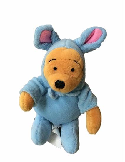 Marvelous Amazon Com Easter Bunny Blue Winnie The Pooh Bean Bag Plush Ncnpc Chair Design For Home Ncnpcorg
