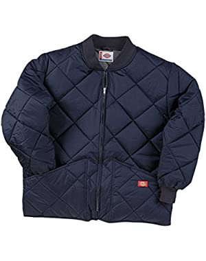 Drop Ship Diamond Quilted Nylon Jacket