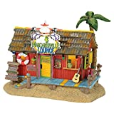 Department 56 Margaretville Village Lounge Musical Lit Building, Multicolored