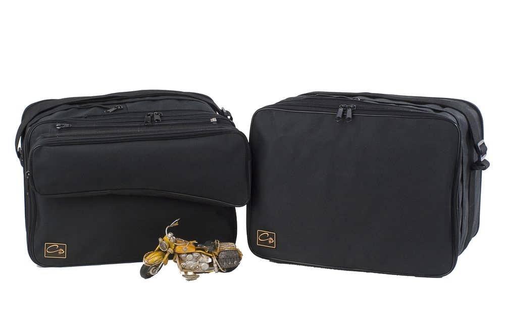 m4b: BMW R1200GS R1200 GS a 2013: Bolsas interiores para maletas laterales moto -- bolsa exterior desmontable CHB-IuV