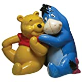 Westland Giftware Life According to Eeyore Pooh and Eeyore Hugging 3-1/4-Inch Magnetic Salt and Pepper Shakers
