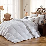 SNOWMAN White Goose Down & Feather Blend Comforter Review and Comparison