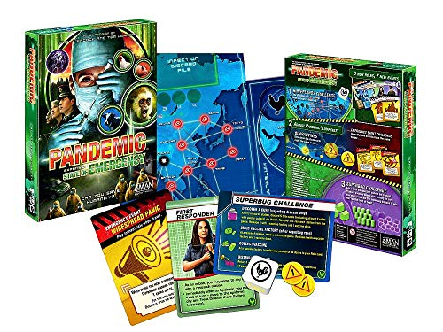 Pandemic: State Of Emergency (Game Card Pandemic)