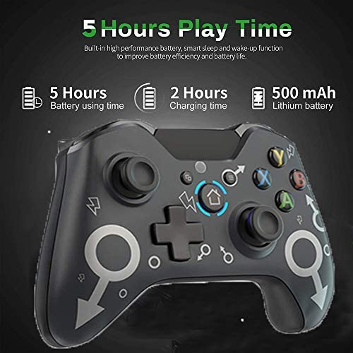 Wireless Controller for Xbox One,Compatible with P3 Host/One S/One X/Xbox One/Windows 10/8/7 Xbox Wireless Controller Enhanced Game Controller