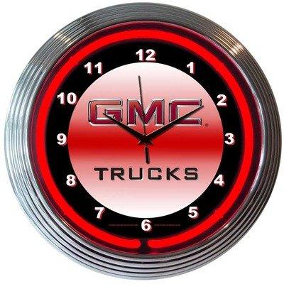 GMC Trucks Neon Clock - Alabama Neon Clock
