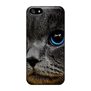 USMONON Phone cases New Premium Blue Eye Beauty Skin Case Cover Ellent Fitted For Iphone Iphone 5 5s