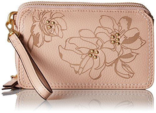 Vera Bradley Mallory Rfid All in One Crossbody, Leather, Pink Sand