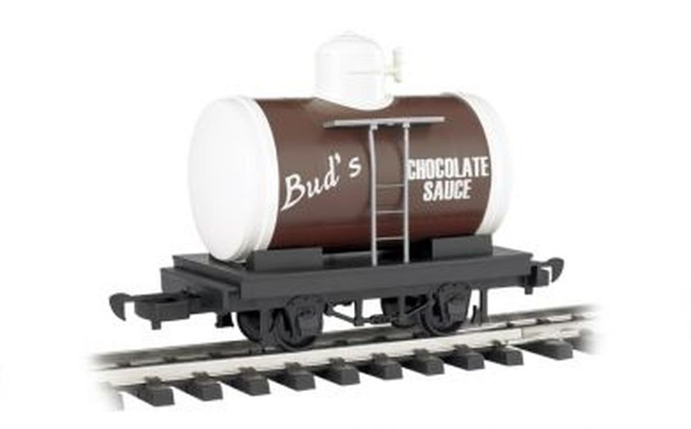 爆買い! Bachmann Industries Bachmann Li'L Big Haulers Bud's Chocolate Sauce Haulers G-Scale Big Tank Car, Large by Bachmann Trains B0090TA2DM, 梅春 いちや:66be6a49 --- a0267596.xsph.ru