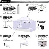 ABCCANOPY Canopy Tent 10x15 Pop Up Canopy Tent