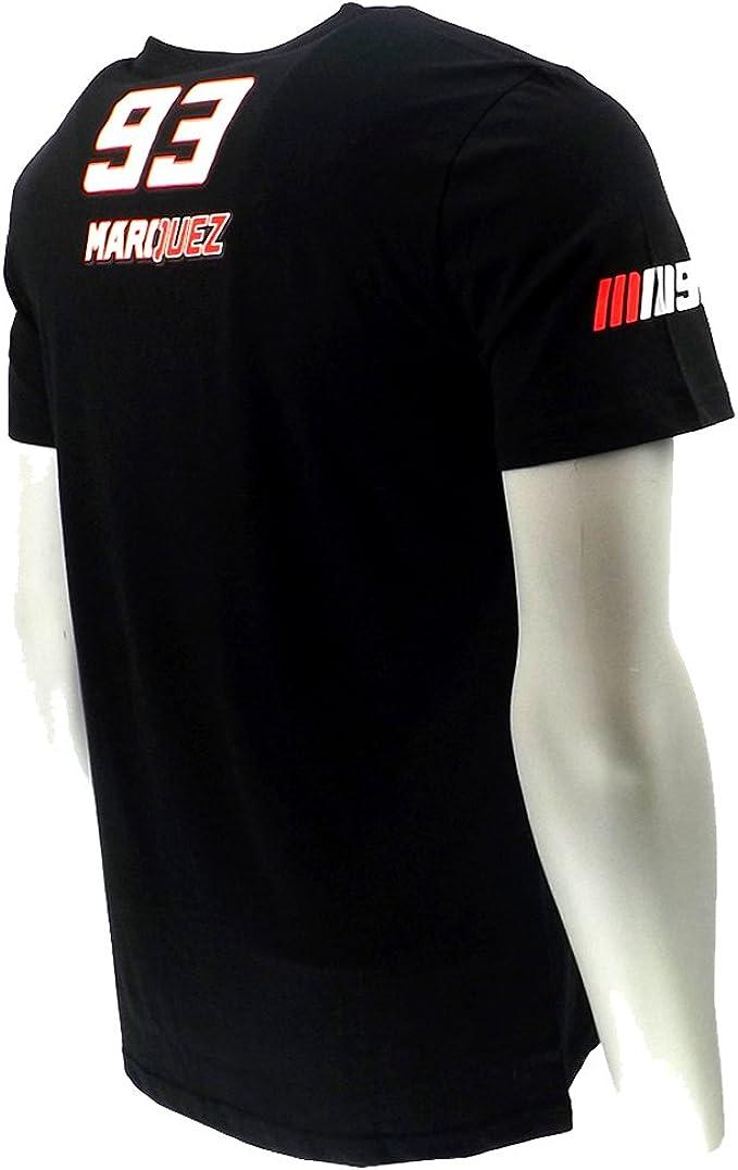 Marc Marquez 93 gran hormiga Moto GP camiseta negra oficial Nuevo ...