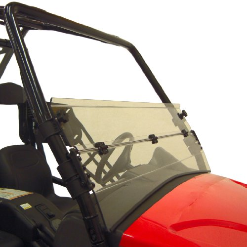 (Kolpin Prowler Half Folding Windshield for Round Tube - 2456)