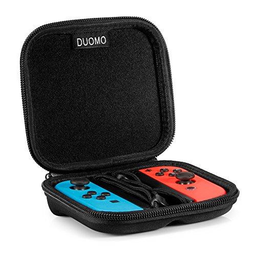 Nintendo Switch Storage Joy-Con Hard Case, Protective Carrying bag for NS Joy-Con (L/R).Black