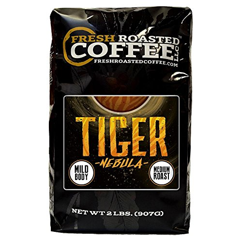 - Tiger Nebula Coffee, Artisan Blend, Whole Bean Bag, Fresh Roasted Coffee LLC. (2 LB.)