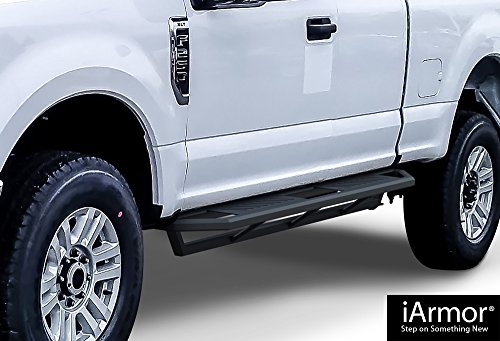 Steps Armor Custom Fit 1999-2016 Ford F250/F350 Super Duty Extended Cab Pickup 4-Door (Nerf Bars | Side Steps | Side Bars) ()