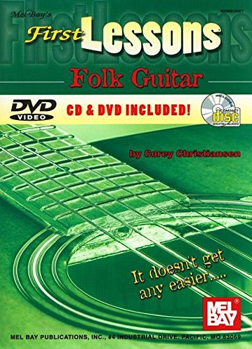 Mel Bay First Lessons Folk Guitar - First Lessons Folk Guitar