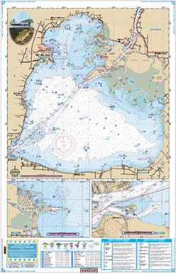 (Waterproof Charts, Lake Fishing, 29F Lake St. Clair)