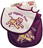 NCAA Louisiana State Fightin Tigers Infant Bib 2-Piece