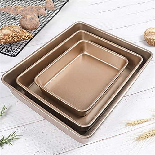 ZHANGXIAO Plat De Cuisson, Utilisé for Four Outils De Cuisson Rouleau À Gâteau Biscuits Muffin Tourte À La Viande Pas Collant Acier Carbone (Taille : 32×26.6×6.7cm)
