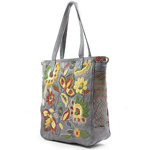 old-trend-leather-tote-el-cosmica-handbag-grey