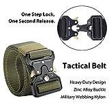 Clobri Tactical Belt, 4 Pack Military Style Belts
