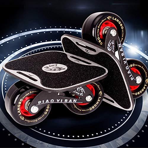 1Pair Freeline Roller Skates Skate Board Drift Board for Roller Road Drift