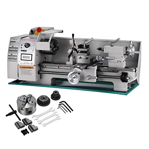 TOTOOL Metal Lathe Mini Bench Lathe (8x16 Inch 750W) by TOTOOL