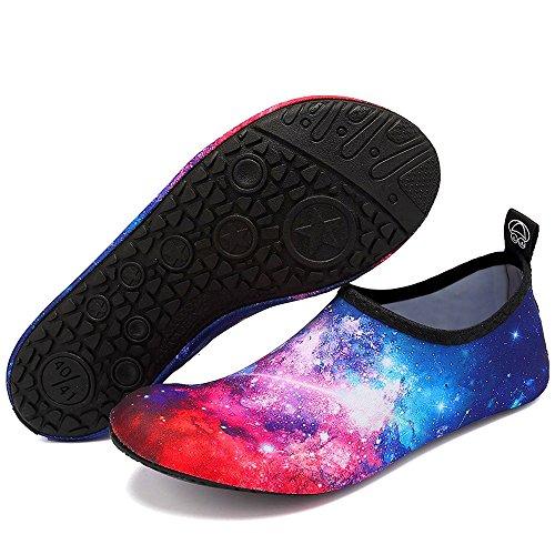 Et on Chaussettes Pieds Étoilé De Chaussures Pour Rapide Bigu Surf Yoga Aqua Plage Nager Nus Aquatique Hommes Enfants D'eau Femmes Slip À Sport Séchage 0Addzaqw