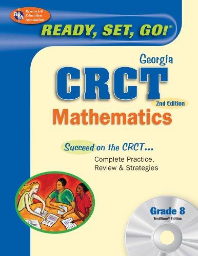 Georgia CRCT Grade 8 Math w/ CD-ROM (Georgia CRCT Test Preparation)