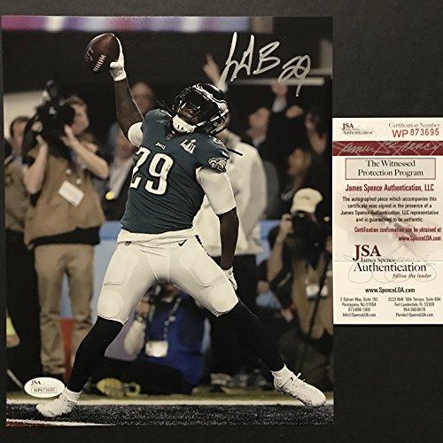 Autographed/Signed LeGarrette Blount Philadelphia Eagles Super Bowl LII 52 TD Champions 8x10 Football Photo JSA COA