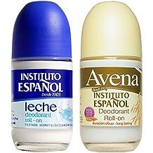 Instituto Espanol 24 Hour Avena Deodorant Roll On Combo (2 Pack).. HPVagr