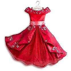 Disney Elena of Avalor Deluxe Costume for Kids Red