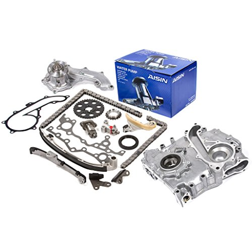 94-04 Toyota 2.7 DOHC 16V 3RZFE Timing Chain Kit w/ Timing Cover Oil Pump AISIN Water Pump 2.7 Engine Parts