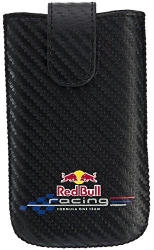 "PETER JÃ""CKEL RED BULL RACING Carbon Case No1 Groesse L Black"