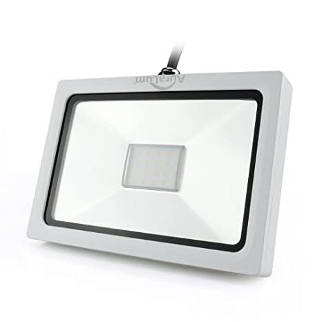 Auralum® Proyector LED 50W Lámpara Foco Energía Económico para Iluminación Exterior y Interior Impermeable IP65