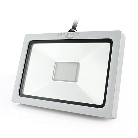 Auralum® Proyector LED 30W Lámpara Foco Energía Económico para ...