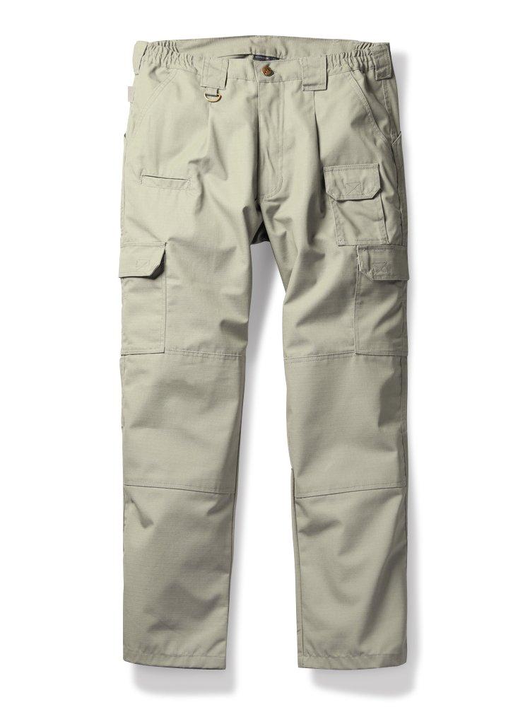 OCHENTA Men's Lightweight Ripstop Tactical Pants, Outdoor Hiking Climbing Cargo Khaki Tag 34 - US 32