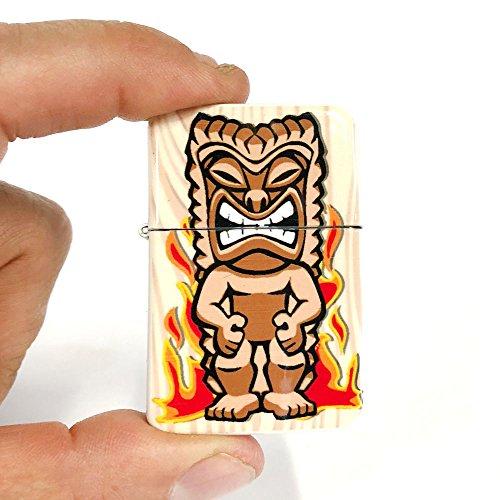 - Tiki god Ku flip lighter