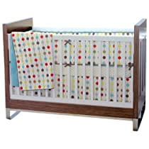 Skip Hop Mod Dot Crib Bedding 4 Piece Set Mod Dot