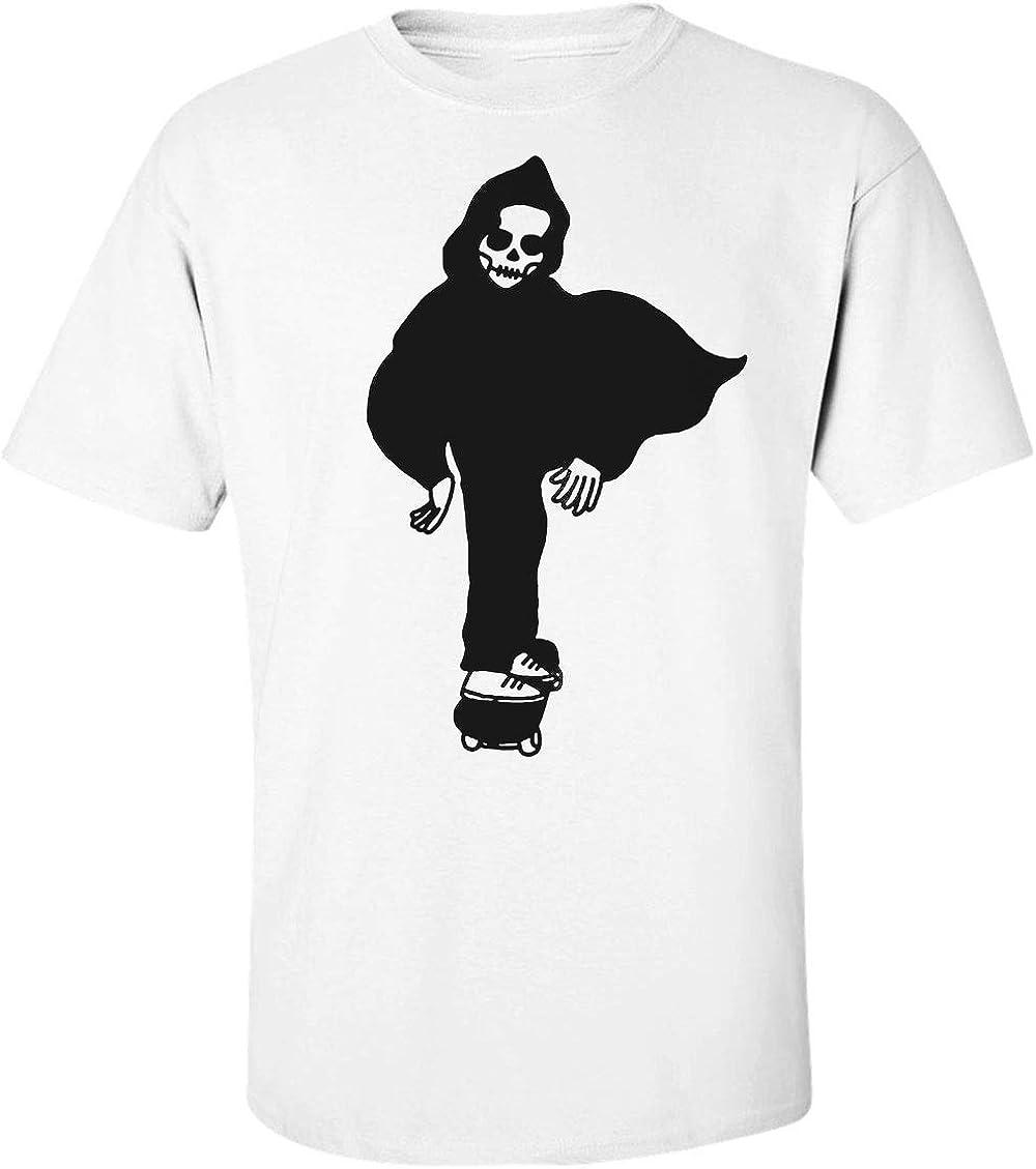 Finest Prints Sk8 Cool Skater Death Camiseta para Hombre XX-Large: Amazon.es: Ropa y accesorios