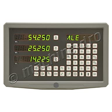 M DRO SDS6 3 Axis Digital Readout Display Console Power