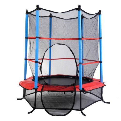 Youth Jumping Round Trampoline 55
