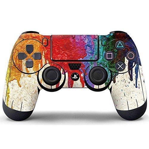 Pandaren-controller-skin-sticker-faceplates-for-PS4-controller-x-1Paints