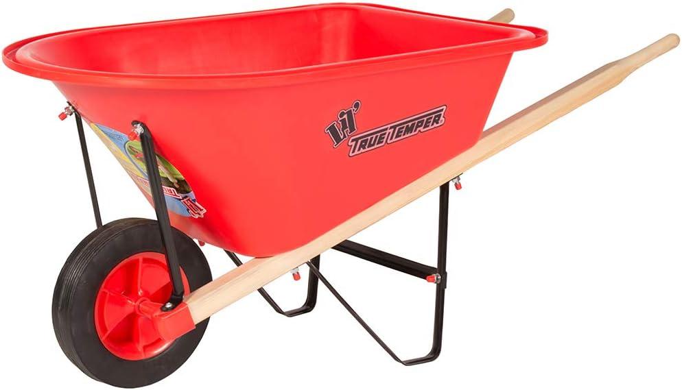The AMES Companies, Inc KPWB10 1.25Cf Kids Wheelbarrow, 1.25-Cubic Foot Colors May Vary